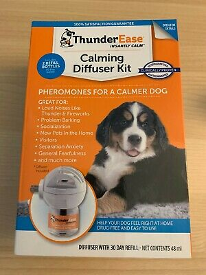 ThunderEase Calming Diffuser Kit for Dogs 60 Day Supply