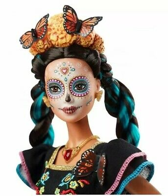 Barbie Day of the Dead (El Dia De Los Muertos) DOLL *In Hand Ships Next Day*