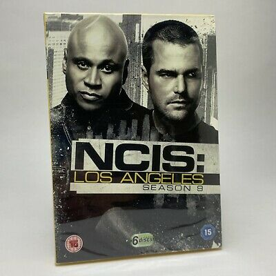 NCIS LA Los Angeles Season 9 Series Nine DVD Box Set Region 2 R2 - New & Sealed