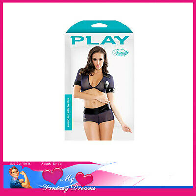 My Fantasy Dreams Adult Play - Read My Rights Costume M/L 12-16 Au Costume Cop
