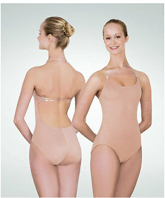 Body Wrappers 295 Women/'s Large 10-12 Nude TotalSTRETCH Body Brief