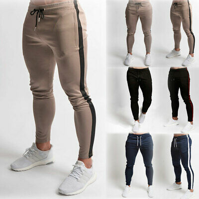 AU Men Jogger Sports Pants Gym Running Track Trousers Athletic Sweatpants