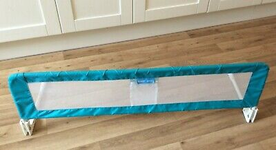 Tomy Toddler Child Baby Bed Guard  Blue, Folds Flat, Used