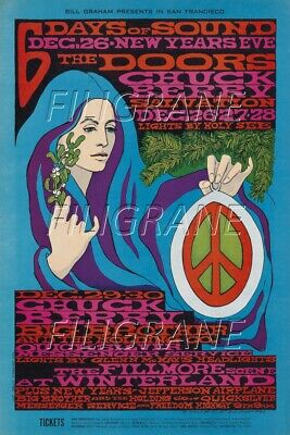 "Iconic Album Retro Poster SuperA1 A2 A3 A4 Sizes /""L.A WOMAN/"". The Doors .."