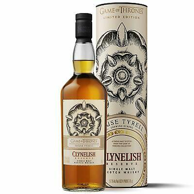 Game of Thrones GOT House Tyrell - Clynelish Reserve 700ml (UK Release)
