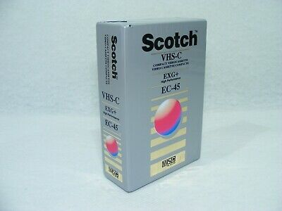 Scotch EC-30 VHS tape. 3 Available, Factory Sealed