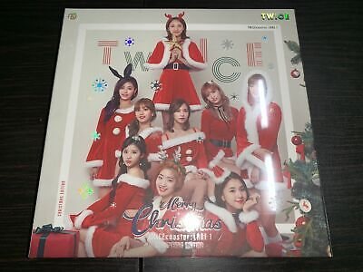 Twice 3rd Mini Album Twicecoaster Lane 1 Christmas Edition CD Photobook Good