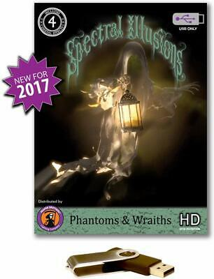 Spectral Illusions Phantoms & Wraiths Virtual Reality Compilation Video on USB