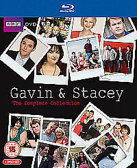 GAVIN & AND STACY / STACEY - The Complete Series 1-3 + Xmas Specials BLU RAY NEW