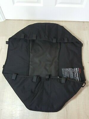 Bugaboo Donkey carrycot bassinet cover fabrics black base