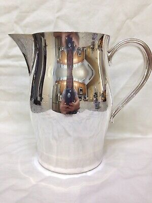 PAUL REVERE Reproduction Silverplate Water Pitcher