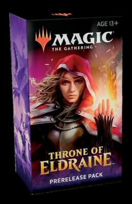 Magic  the Gathering MTG  THRONE of ELDRAINE Prerelease Kit box cards Sealed