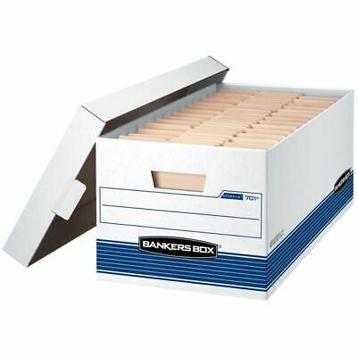 """Bankers Box® Stor/File™ 65% Recycled Storage Boxes, Lift-Off Lid, 24"""" x 12"""" x 10"""