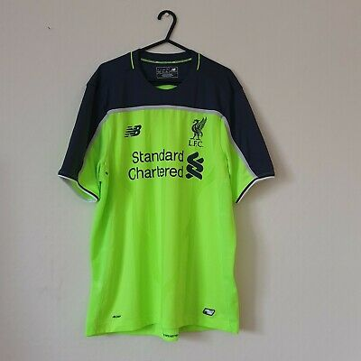 Liverpool FC New Balance 3rd Away Shirt Size Large 2016-2017