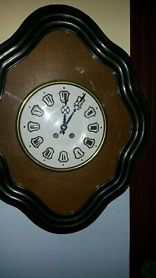 Antique French Vineyard - Baker - Wall Clock 19th Century