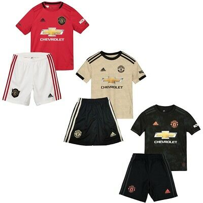 Manchester United Football Shirt 2019/20 Kids Mens Home Away Kit Soccer Jersey
