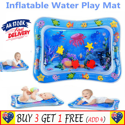 Baby Tummy Sea World Inflatable Time UE Water Play Mat Fun Toddlers Infants  G