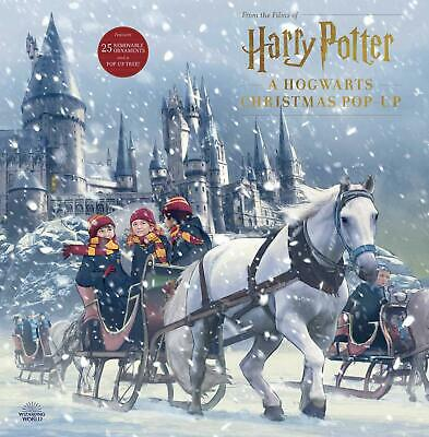Harry Potter Hogwarts Christmas Pop-Up Insight Edition Hardcover October 22,2019