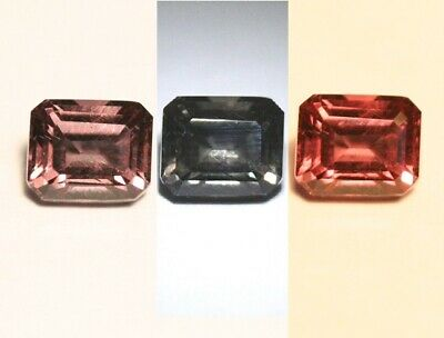 1.10ct Colour Change Garnet - Emerald Cut Gem with Rare Superb Colour Change