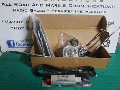 RTL-SDR R820T2 RTL2832U Software Defined Radio with Dipole Antenna Kit