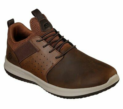 SKECHERS 65869 DELSON Elmino Chocolate Air Cooled Memory