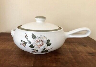 Denby English Rose CASSEROLE/ OVEN DISH & LID, Shabby Chic