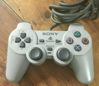 """Official PlayStation PS1 Concave """"The Lost"""" Controller SCPH-1180 RARE Tested"""