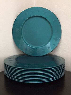 """Tupperware 9"""" Snack & Salad Dishes/Lunch Plates Set (12) **Excellent**"""