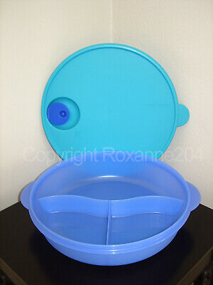 Tupperware Crystalwave Divided Dish Large Container (1) **New**