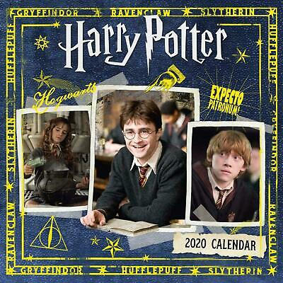 Harry Potter 2020 Square Wall Calendar 30 x 30cm by Browntrout FREE POST