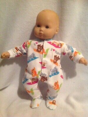 """15"""" Bitty Baby cat dog yoga sleeper pajamas pjs Boy girl Doll Clothes outfit fit"""