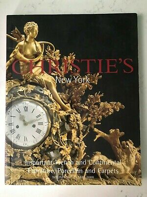 Christie's New York Important French Furniture Porcelain & Carpets  May 24, 2000
