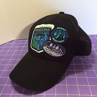 Disney Parks Pandora The World of Avatar 3 Patches Hat Cap Adult New with Tags