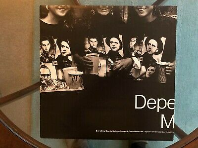 """Depeche Mode - Everything Counts/Nothing 12"""" 1988"""