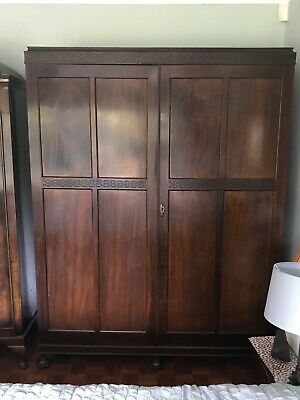 Waring & Gillow triple wardrobe
