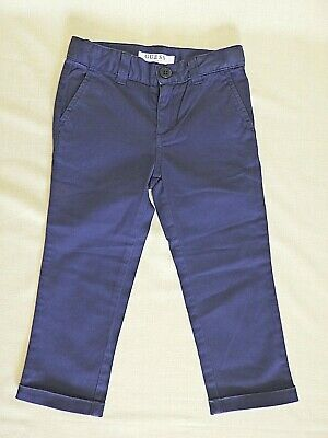 Guess Los Angeles Navy Blue Boys Trousers Age 2 Yars