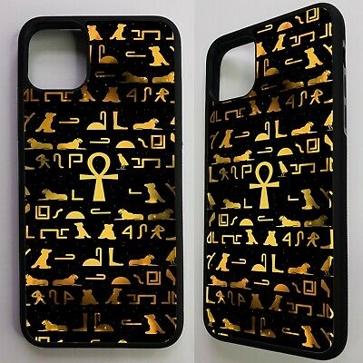Ancient egyptian hieroglyphic pattern case cover for iphone 11 pro / 11 pro max