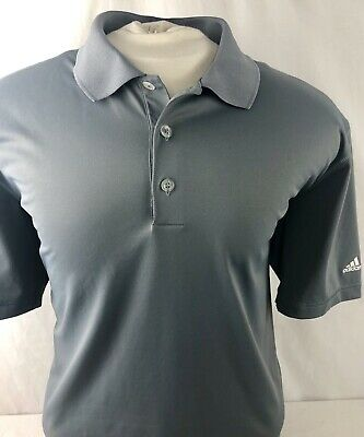Adidas Men's Puremotion Golf Polo Shirt Gray XL