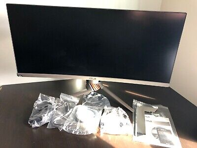 """ASUS Rog Swift PG348Q 34"""" Curved Gaming Monitor (3440x1440, 100Hz, GSync, 21:9)"""