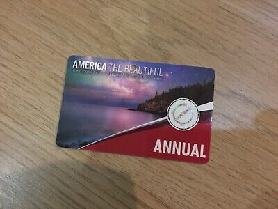 AMERICA THE BEAUTIFUL ANNUAL PASS Expires September 2020 - USA National Parks