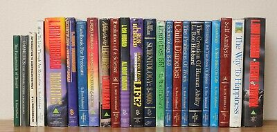 1980's Dianetics and Scientology Book Collection