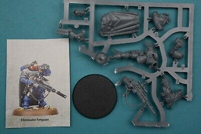 Warhammer 40k Vanguard Primaris Space Marines Eliminator Sergeant -NoS-