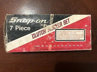 SNAP ON 6 Piece Clutch Alignment Tool Set  Aligner - A145