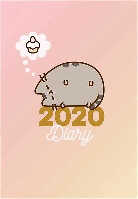 Pusheen 2020 A5 Diary Week to View by Browntrout 9781838542320 Free Post