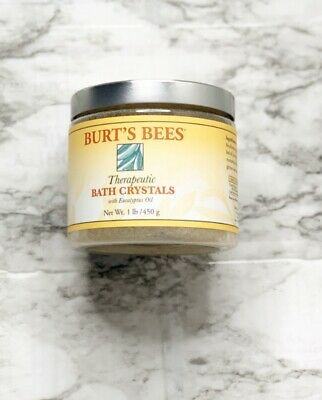 Burt's Bees Therapeutic Bath Crystals W/ Eucalyptus Oil 1LB DISCONTINUED