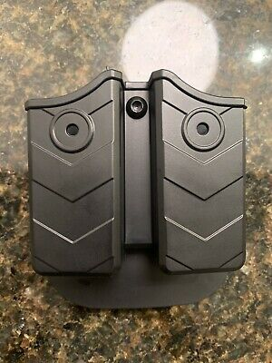 Double Stack Tuckable IWB Magazine Holster 40 Holder Mag Pouch: Fits 9mm 45