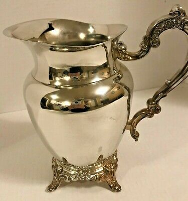 Oneida Silver Plated Water Pitcher