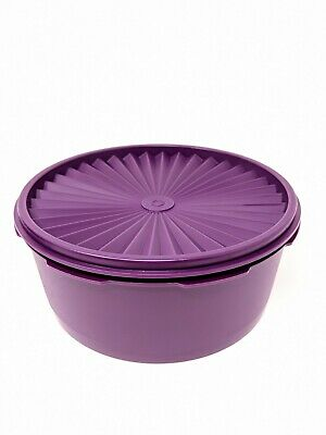 Tupperware Classic Round Coockie Servalier Canister New