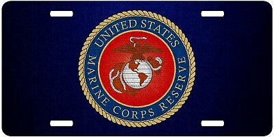 Support our troops Army Navy Air Force Marines American flag license plate