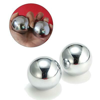 33/38/43 mm Baoding Balls Chinese Health Exercise Stress Chrome Relief Colo U3C3